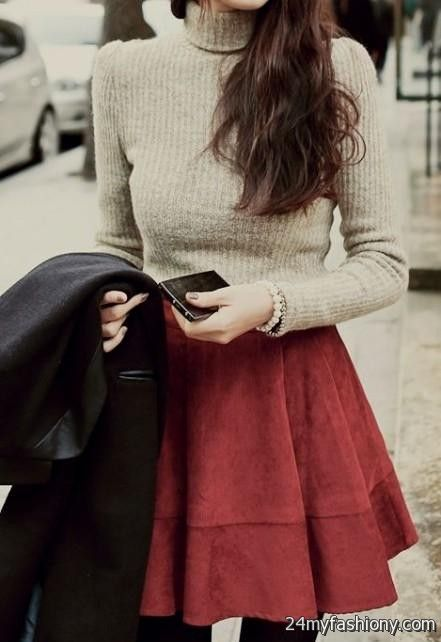 Cute Winter Dress Outfits Tumblr 2016 2017 B2b Fashion