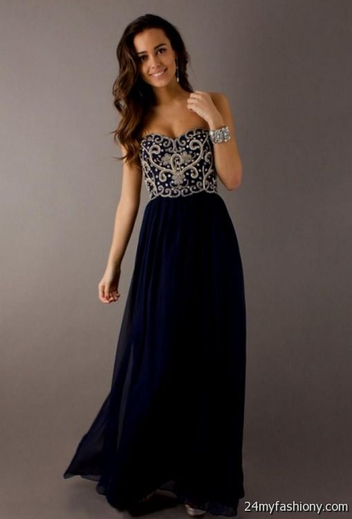 dark blue and black homecoming dresses 2016-2017 » B2B Fashion