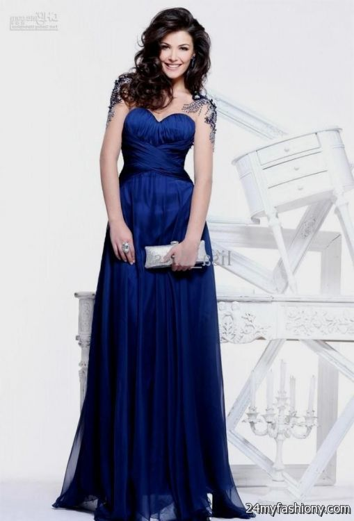 Dark Blue Dress Formal 2016 2017 B2b Fashion