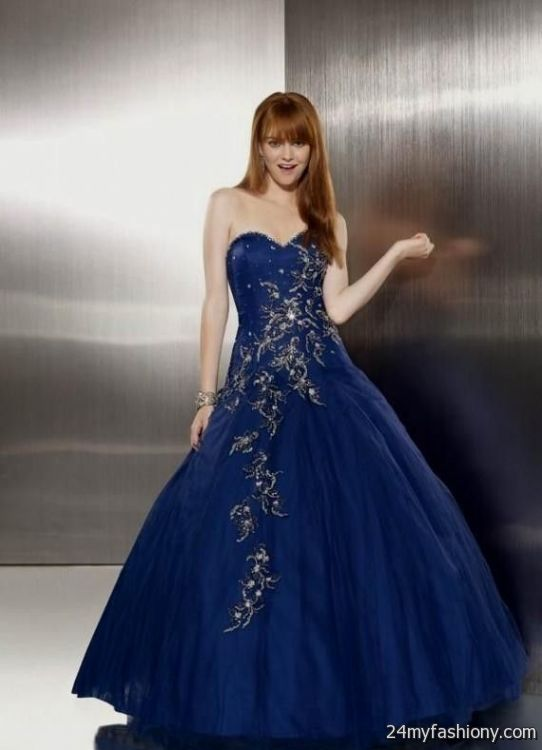 princess gowns for prom blue wwwimgkidcom the image