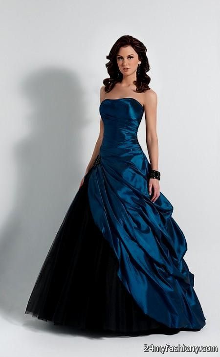 Dark Blue Prom Dresses Looks B2b Fashion