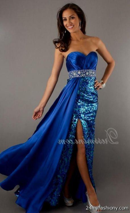 dark blue sparkly prom dress 20162017 b2b fashion