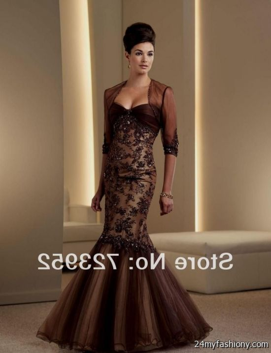 Collection Brown Formal Dresses Pictures - Homeas