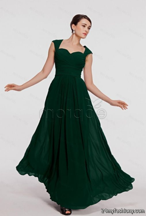 Dark Emerald Dress