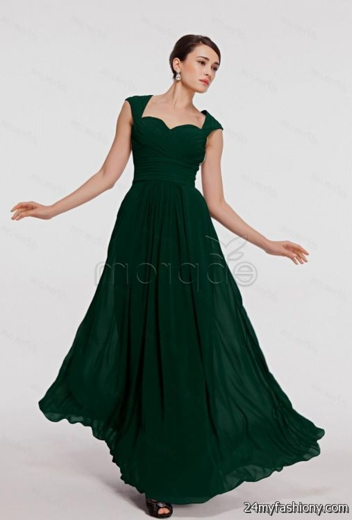 dark green prom dresses 2017 discount evening dresses