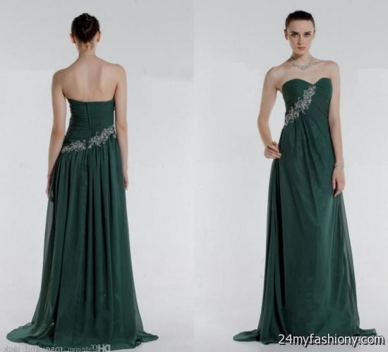 dark forest green prom dress 2016-2017 » B2B Fashion