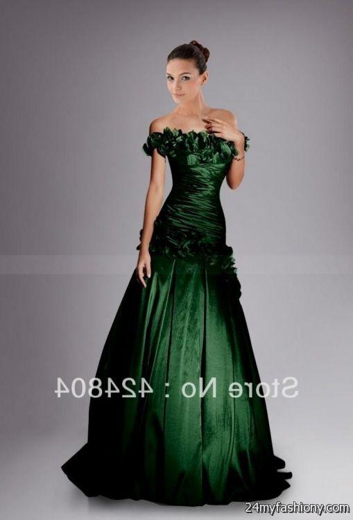 dark forest green prom dress 2016-2017 » B2B Fashion