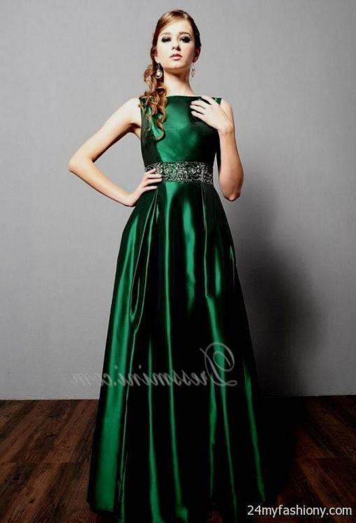 Dark Green Ball Gowns Looks B2b Fashion