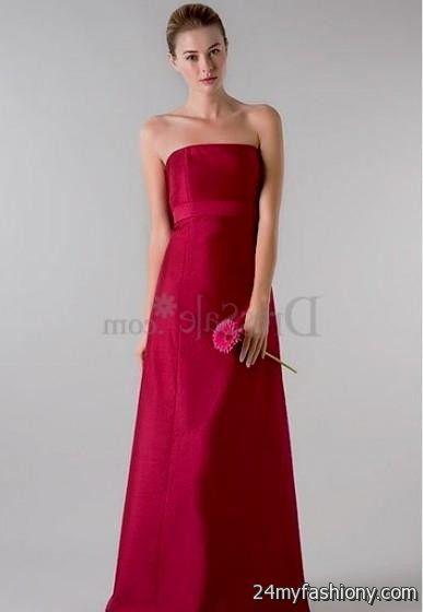 Dark Pink Bridesmaid Dress - Ocodea.com