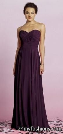 You Can Share These Dark Plum Bridesmaid Dresses On Facebook Stumble Upon My E Linked In Google Plus Twitter And All Social Networking Sites