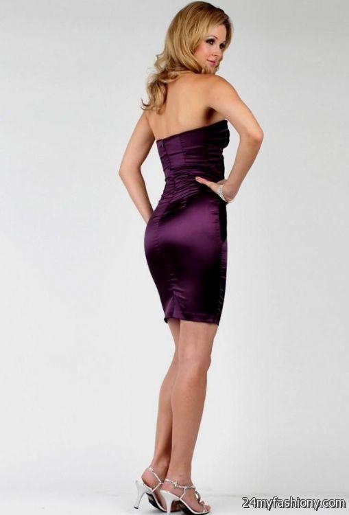 dark purple cocktail dress 2016-2017 » B2B Fashion
