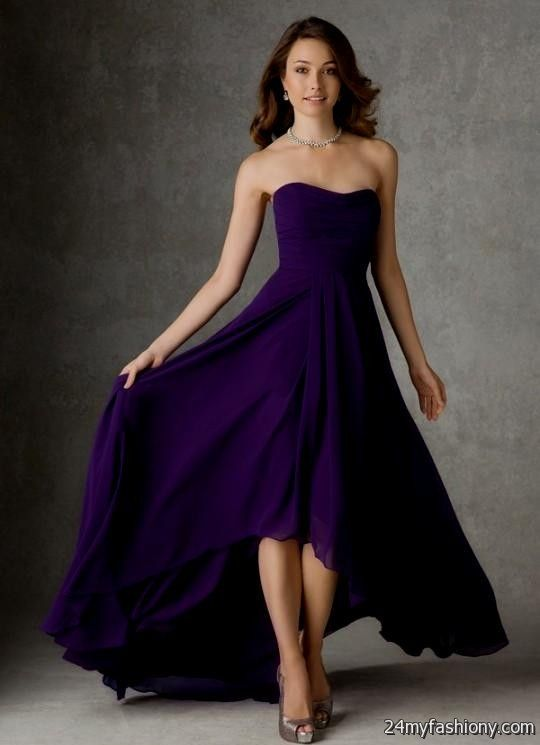 Dark purple dresses 2016 2017 b2b fashion for Dark purple wedding dresses
