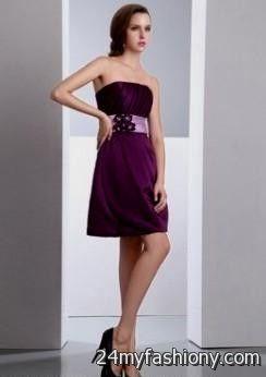 dark purple dresses for juniors 2016-2017 » B2B Fashion