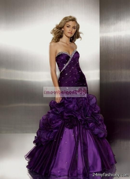 dark purple prom dresses mermaid 20162017 b2b fashion