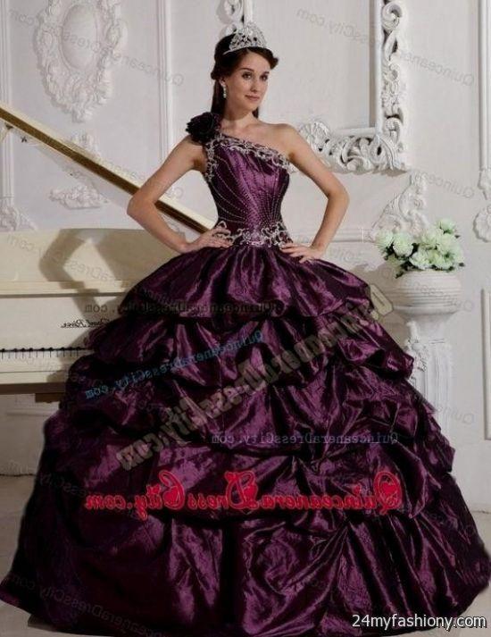 dark purple sweet 16 dresses 2016-2017 » B2B Fashion
