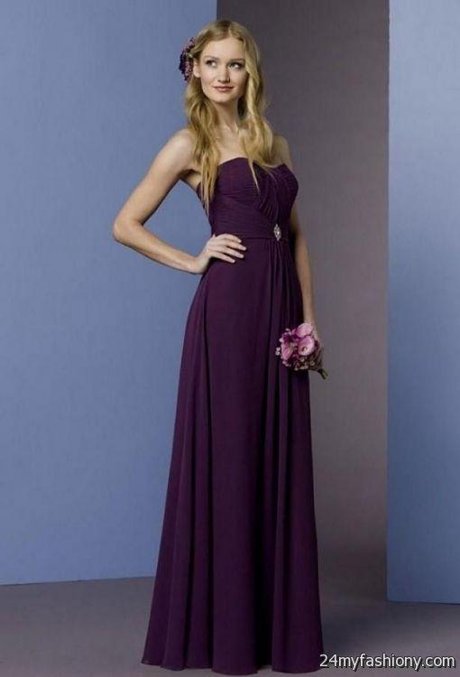 Dark purple wedding dresses 2016 2017 b2b fashion for Dark purple wedding dresses