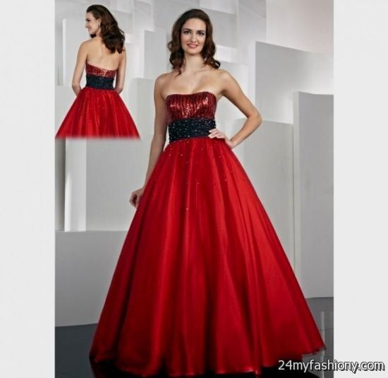 Red Formal Dresses for Juniors with Sleve