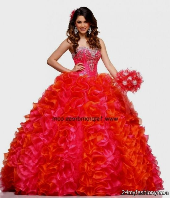 dark red puffy quinceanera dresses - 46.4KB