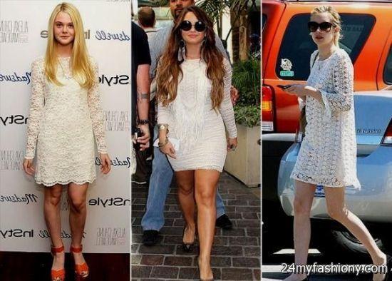 demi lovato white dress 20162017 b2b fashion