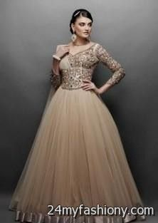 b5a823b6fd Designer evening gowns for wedding reception looks