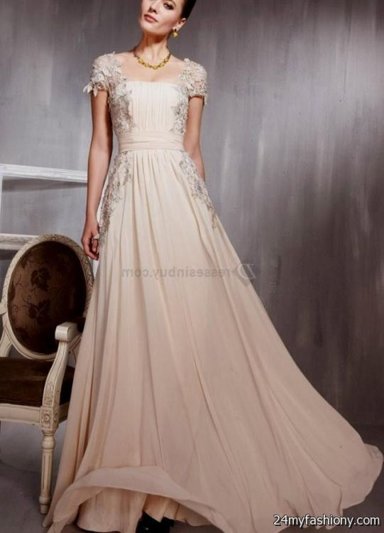 Designer evening gowns with sleeves 2016-2017 » B2B Fashion