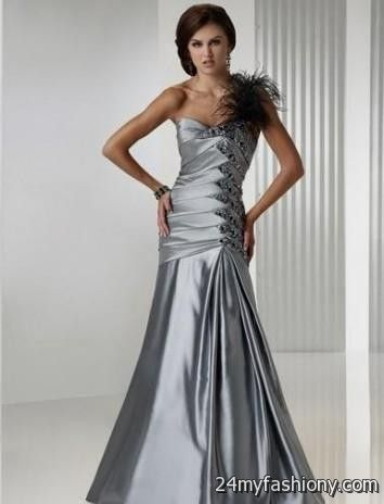 designer silver evening gowns 2016-2017 » B2B Fashion
