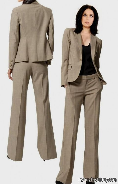 New Latest Straight Pants Suits Collection 20163917  Stylo Planet