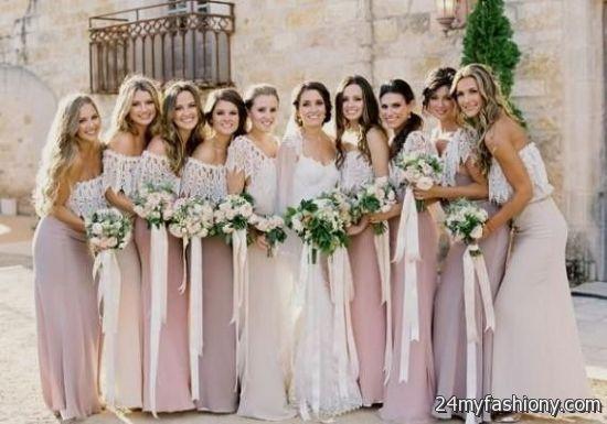 Dusty Pink Bridesmaid Dresses - Ocodea.com
