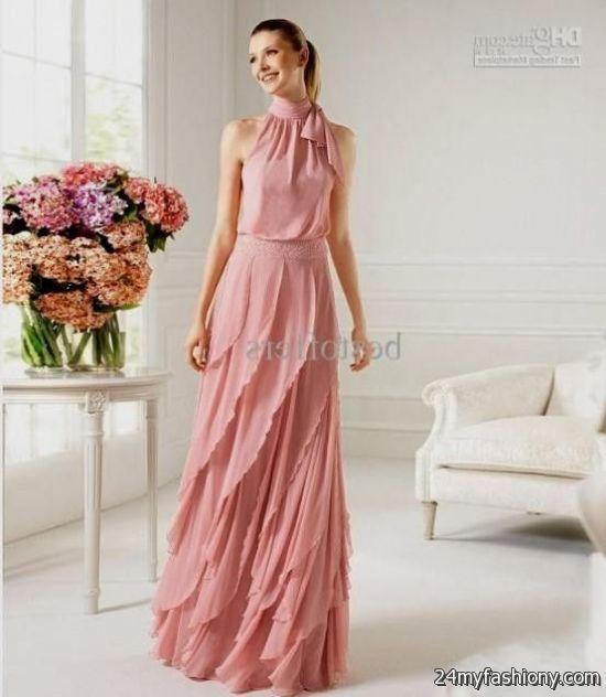 dusty rose chiffon bridesmaid dresses 20162017 b2b fashion