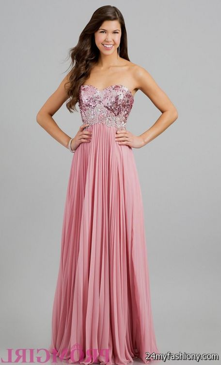 Dusty rose prom dress - Best Dressed
