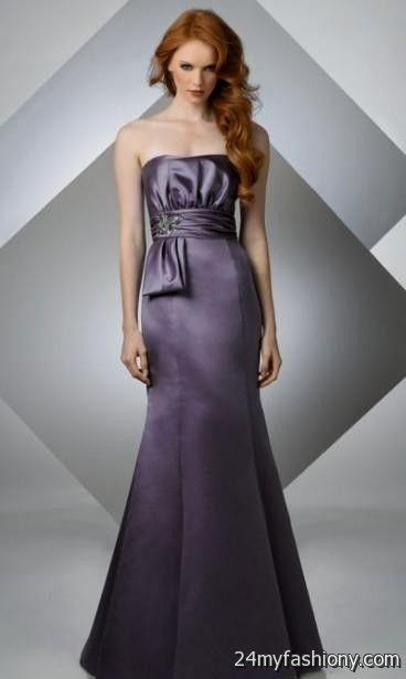 eggplant mermaid bridesmaid dresses 2016-2017 » B2B Fashion