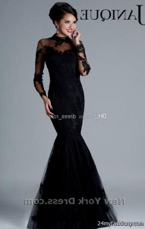 Prom Dresses 2017 Black Plus Size Prom Dresses