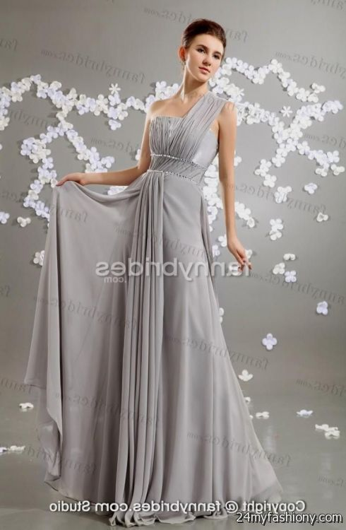 elegant chiffon evening gown 2016-2017 » B2B Fashion