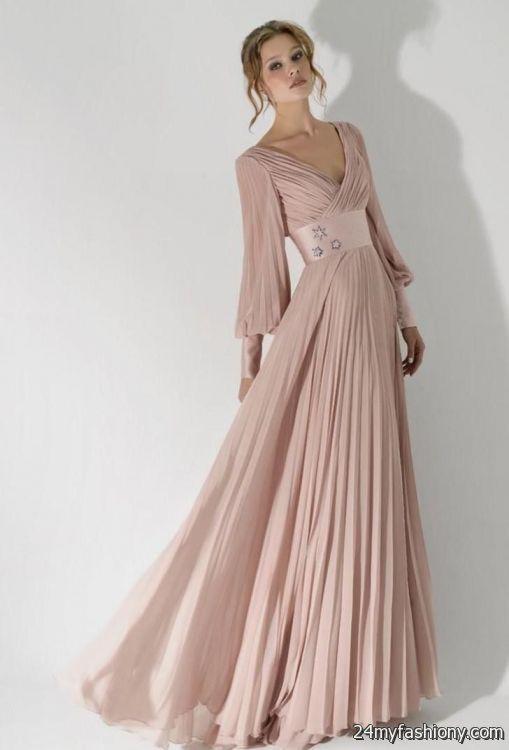 elegant dresses with sleeves 2016-2017 » B2B Fashion