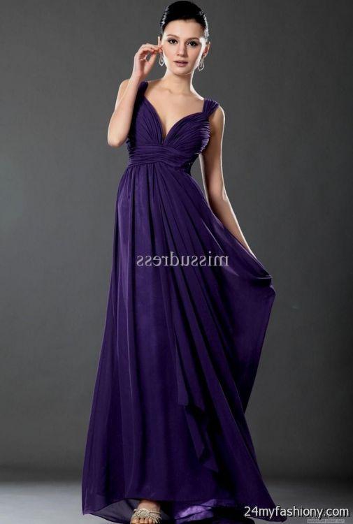 elegant purple dresses 2016-2017 » B2B Fashion