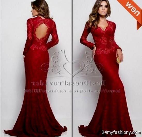 Elegant Red Prom Dresses