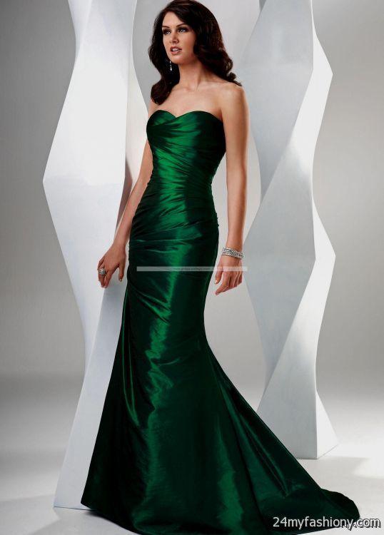 emerald evening gowns 2016-2017   B2B Fashion