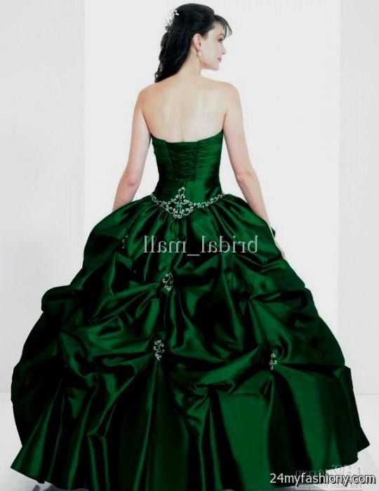 emerald green ball gowns 2016-2017 » B2B Fashion