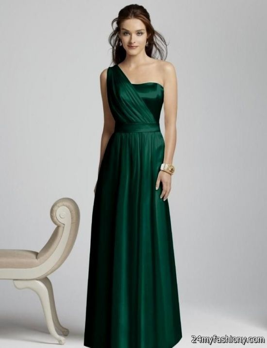emerald green bridesmaid dresses 2016-2017 » B2B Fashion