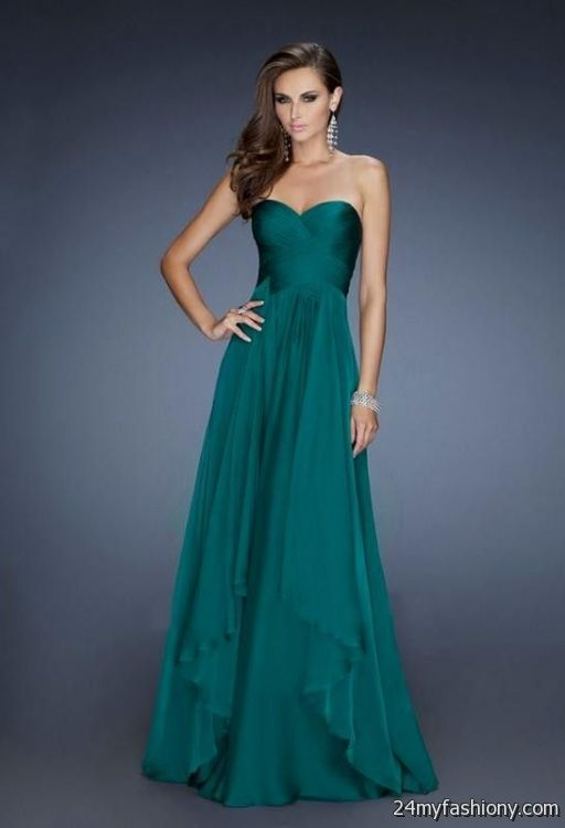 Light Green Prom Dresses 2014