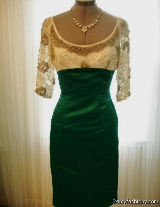 emerald green cocktail dresses 2016-2017 | B2B Fashion
