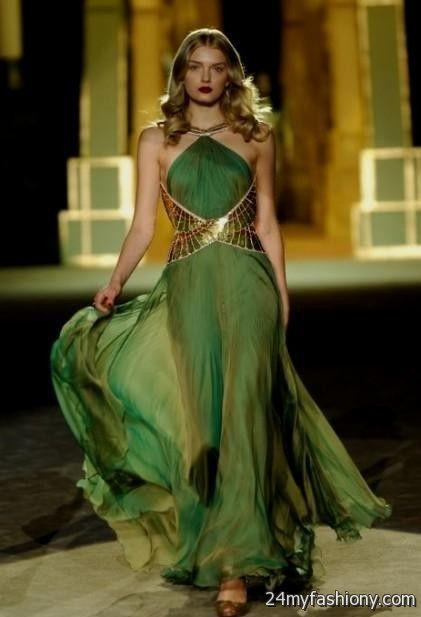 Emerald Green Gown 2016 2017 B2b Fashion