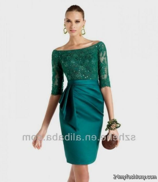 emerald green lace dress 2016-2017 » B2B Fashion
