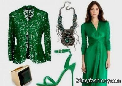 emerald green lace dresses 2016-2017 » B2B Fashion