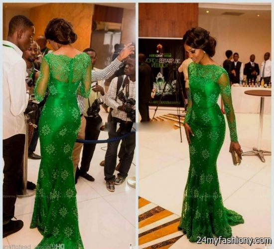 Emerald Green Lace Prom Dress 2016 2017 B2b Fashion