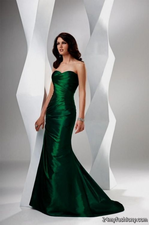 emerald green mermaid prom dress 2016-2017 | B2B Fashion
