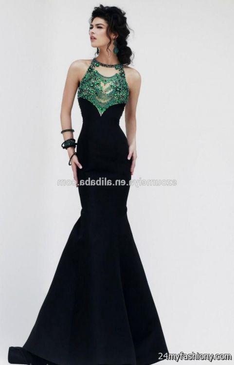 Emerald Prom Dresses 2018 99