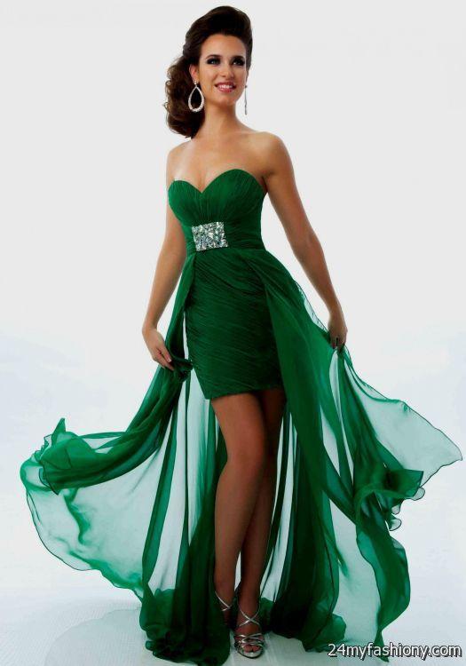 Emerald Green Party Dresses