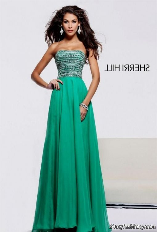 Prom Dresses In Emerald Green 90