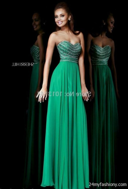 Emerald Green Semi Formal Dresses 2016 2017 B2b Fashion